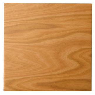 Hellbraunes Holz Keramikfliese