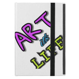 Helle Abdeckung für iPad Kunst ist es Leben iPad Mini Schutzhüllen