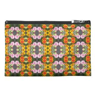 Helle Blumen-Reise-Zusatz-Tasche Reisekulturtasche