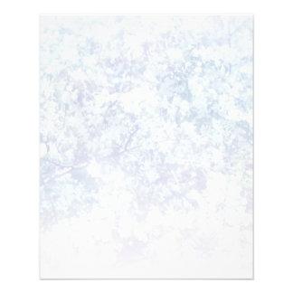 Helle Blumenbeschaffenheits-Hintergrund-Schablone 11,4 X 14,2 Cm Flyer