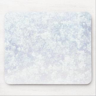 Helle Blumenbeschaffenheits-Hintergrund-Schablone Mousepad