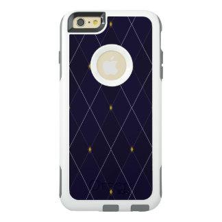 Helle Diamant-Marine-Raute OtterBox iPhone 6/6s Plus Hülle