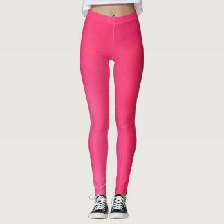 helle dunkle rosa Gamaschen Leggings