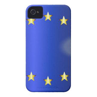 Helle Flagge EU Case-Mate iPhone 4 Hülle