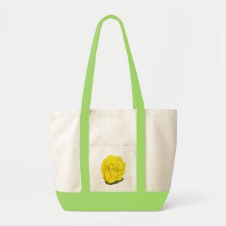 Helle gelbe Rose, Braut-Taschen-Tasche Tragetasche