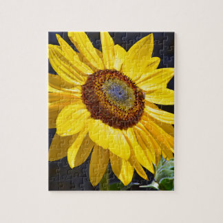 Helle gelbe Sonnenblume Puzzle