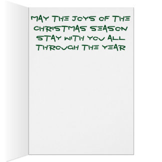 Helle gemischte Bleistift Weihnachtsbaum Karte