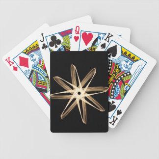 Helle HinterBlume Spielkarten