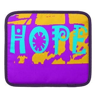 Helle Hoffnungs-Elektronik Sleeves iPad