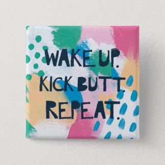 Helle Inspiration IV | wachen Quadratischer Button 5,1 Cm