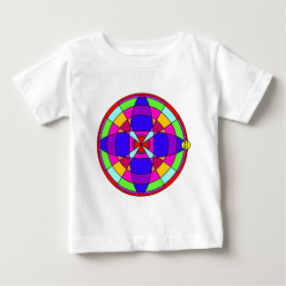 Helle Kaleidoskop-Mandala Baby T-shirt