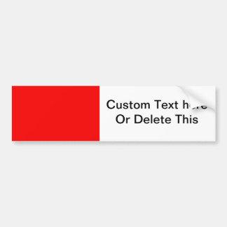 helle kundenspezifische Hintergrundschablone des R Auto Sticker