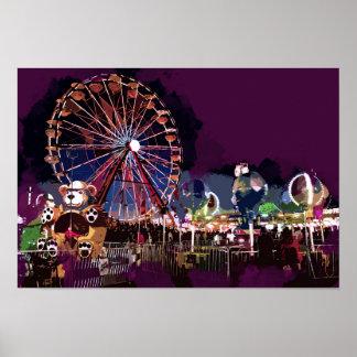 Helle Lichter und Spaß am Karneval Poster