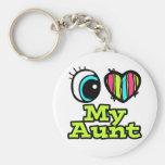 Helle Liebe des Augen-Herz-I meine Tante Schlüsselband