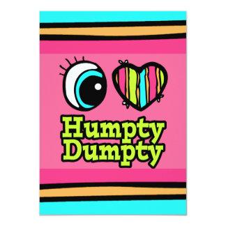 Helle Liebe Humpty Dumpty des Augen-Herz-I Ankündigungen