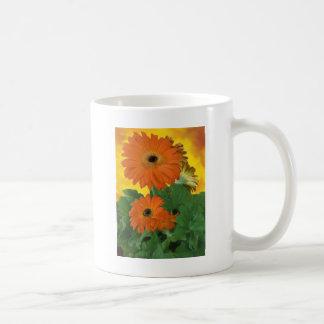 Helle, mutige Gerbera-Gänseblümchen Kaffeetasse