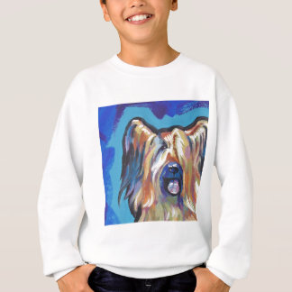 Helle Popkunst des Briard Hundespaßes Sweatshirt