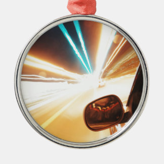 Helle Reise Silbernes Ornament