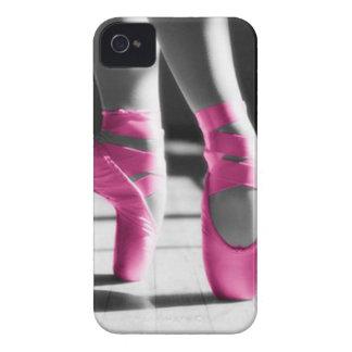 Helle rosa Ballett-Schuhe iPhone 4 Case-Mate Hüllen