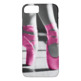 Helle rosa Ballett-Schuhe iPhone 8/7 Hülle