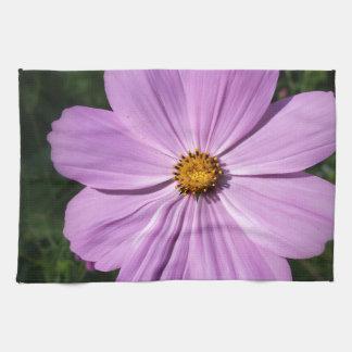 helle rosa Blumen Handtuch