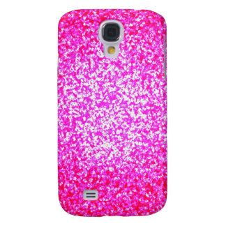 Helle rosa Glittermode Galaxy S4 Hülle