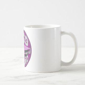 Helle rosa Linie Camaro 1969 Kaffeetasse