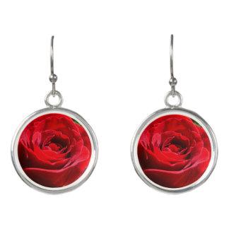 Helle Rosen-Blumen-schönes Blumen Ohrringe