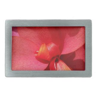 helle rote Blumenblätter Rechteckige Gürtelschnalle