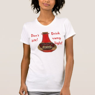 Helle Shirtfrauen des Vamp T-Shirt