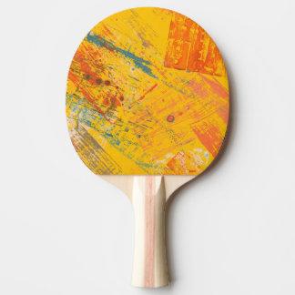 Helle Stimmung. Klingeln-pong Paddel Tischtennis Schläger
