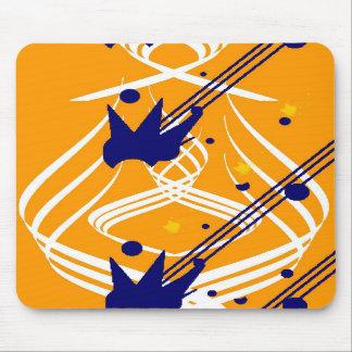 Helle Vektoren auf olympischem Gold Mousepad