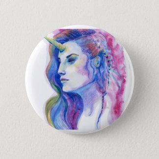 Helle violette magische runder button 5,7 cm