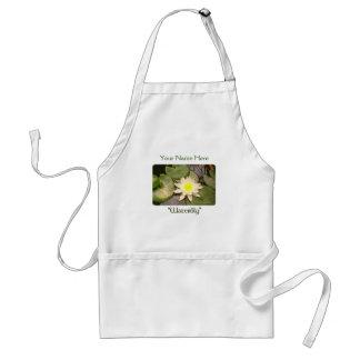 Helle Wasserlilie Schürze