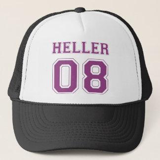 Heller 08 - Lila Truckerkappe