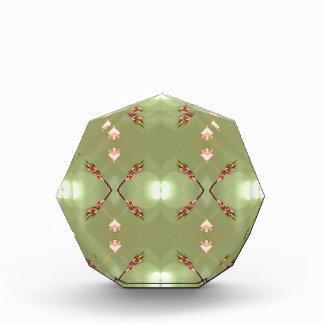Heller Airy Pfirsich-Limones künstlerisches Muster Auszeichnung