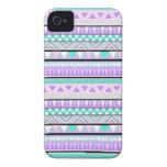 Heller aztekischer Anden-Muster iPhone 4 Fall Case-Mate iPhone 4 Hülle