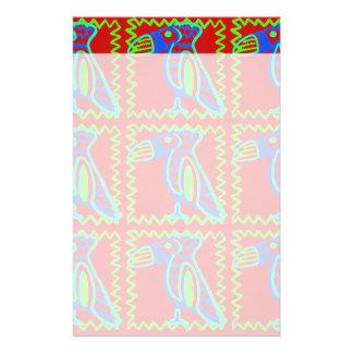 Heller bunter Spaß Toucan tropisches Vogel-Muster Personalisiertes Druckpapier