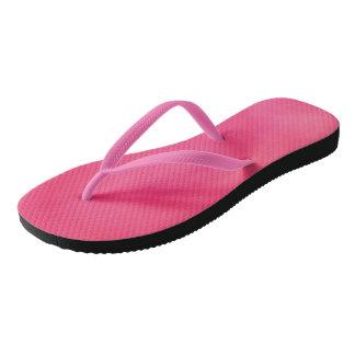 heller dunkler rosa Erwachsener, dünne Bügel Flip Flops