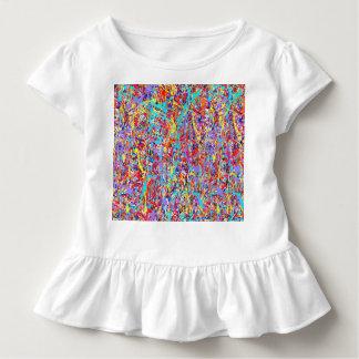 Heller Farben-Spritzer abstrakt Kleinkind T-shirt