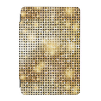 Heller funkelnder goldener iPad mini cover