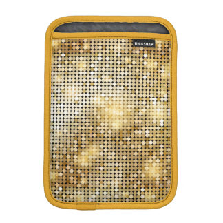 Heller funkelnder goldener iPad mini sleeve