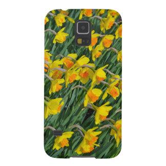 Heller gelber Frühlingsnarzissengarten Samsung S5 Hüllen