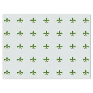 heller Hintergrund mit grüner Lilie Seidenpapier