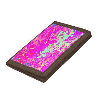 Heller Marbleized Farbentwurf auf Geldbörse