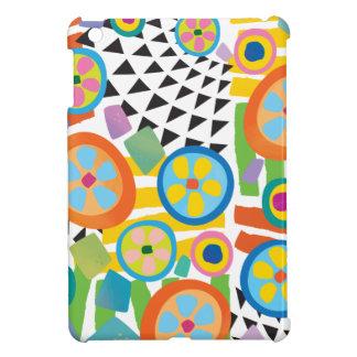 Heller Millefiori abstrakter Garten-Druck iPad Mini Cover