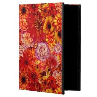 Heller Rojo mit Blumenblumenstrauß-reiche glühende