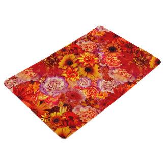 Heller Rojo mit Blumenblumenstrauß-reiche glühende Bodenmatte