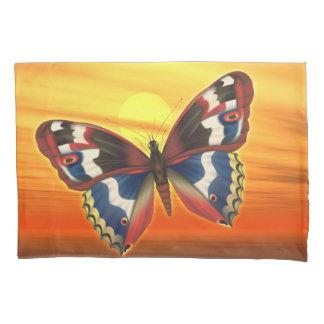 Heller Schmetterling Kissen Bezug