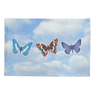 Heller Schmetterling Kissenbezug